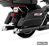SILENCIEUX - VANCE & HINES - MONSTER V SLIP-ONS - TOURING 17UP Milwaukee-Eight® - NOIR - 46563