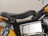 KIT SELLE SOLO - DYNA 96/05 - BLACK LEATHER SOLO SEAT AND MOUNT KIT - V-TWIN