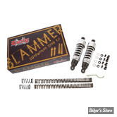 - KIT DE RABAISSEMENT - DYNA 06/17 - BURLY - SLAMMER - CHROME