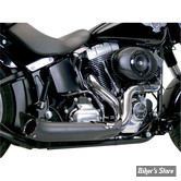 ECHAPPEMENT SUPERTRAPP / PAUL YAFFE - PHANTOM II PIPE 2 EN 1 - SOFTAIL 07/11 ET DYNA 06/11 - NOIR / CHROME