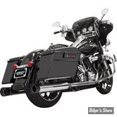 "SILENCIEUX - BASSANI - TOURING 17UP MILWAUKEE-EIGHT® - MUFFLERS STRAIGHT 4"" CAN DNT® - CORPS : CHROME / EMBOUTS : NOIR"