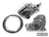 KIT DÉMARREUR TECH - ISOLATOR SERIE ELECTRIC START KIT - POUR SHOVELHEAD 70/78 AVEC BDV 4 Ratchet Top