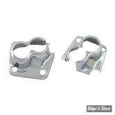 ECLATE H - PIECE N° 12 - Couvres embases de poussoirs - Shovelhead 66/84 - Chrome