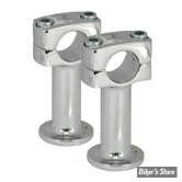 "RISERS POST RISERS - HAUTEUR : 3"" - CHROME"
