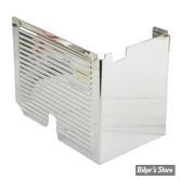 """Cache batterie - SPORTSTER 67/78 - OEM 66379-67 - chromé """" Ribbed """""""