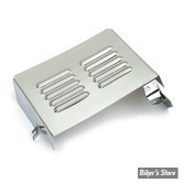 "Cache batterie - FL/FLH 70/84 - OEM 66075-83 - CHROME ""Louvered"""
