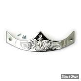 EMBOUT DE GARDE BOUE ARRIERE & AVANT - 59282-85T - CHROME - Embossed Eagle