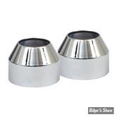 ECLATE N - PIECE N° 23 - Couvres caches poussiere de tubes de fourche - XL 73/74 / FX 73/77 - OEM 45351-84 - Chrome