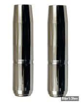 ECLATE N - PIECE N° 21 - TUBES DE FOURCHES CHROMES 35MM XL75/83 / FX - 21 1/4 - CUSTOM CYCLE ENGINEERING - SHOW CHROME