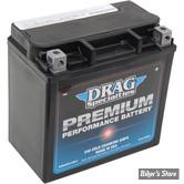 BATTERIE - 66010-97 A/B/C - DRAG SPECIALTIES - PREMIUM PERFORMANCE - AGM / GEL
