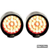 CLIGNOTANT A LEDS - LAZERSTAR LIGHTS - MICRO B POINT - LED - NOIR - ECLAIRAGE : ROUGE