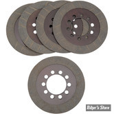 ECLATE A - PIECE N° 08 - DISQUES D'EMBRAYAGE - BIG TWIN 68/84 - BARNETT - CARBONE - LE KIT