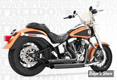 ECHAPPEMENT FREEDOM PERFORMANCE - DECLARATION - 2 EN 2 - SOFTAIL 86/17 - NOIR