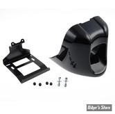 SABOT / CHIN SPOILER - CULT WERK - SOFTAIL FXSB  11/17 - BUG SPOILER RACING - NOIR BRILLANT - HD-BRO008