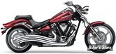 ECHAPPEMENT COBRA - SPEEDSTER SWEPT - YAMAHA XV 1900 RAIDER 08/13 - CHROME