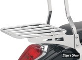 "PORTE BAGAGE POUR SISSY BAR ""COBRA"" - STYLE : TUBULAR - FINITION : CHROME"