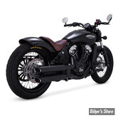"SILENCIEUX VANCE & HINES TWIN SLASH 3"" - NOIR - INDIAN SCOUT - 48623"