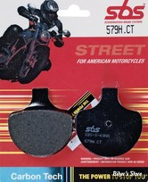 PLAQUETTES - 44063-83 - SBS 2 - STREET CARBON TECH ORGANIC