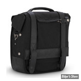 SAC BURLY BRAND - BURLY VOYAGER SINGLE SADDLEBAG - NOIR - B15-1000B