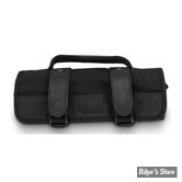 TROUSSE A OUTILS - BURLY BRAND - BURLY VOYAGER TOOL ROLL - NOIR - B15-1030B