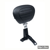 SELLE MUSTANG - BLACK SUPER DELUXE TOURING SEAT : DOSSIER CONDUCTEUR OPTIONNEL - 79659