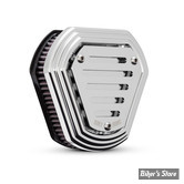 - FILTRE A AIR -  BURLY BRANDS - HEX AIR CLEANER - BT93UP / SOFTAIL 01/15 / DYNA 04/17 / TOURING 02/07 - EVOLUTION & TWINCAM - CHROME