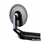 RETRO MOTOGADGET - M.VIEW SERIE - M.VIEW CAFE GLASSLESS HANDLEBAR END MIRROR - NOIR - COTE DROIT OU GAUCHE