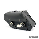 SACOCHES LATERALES - LONGRIDE MOTORCYCLESBAGS - #149 - 27 LITRES - NOIR - MATIERE : IPAREX - HC-149