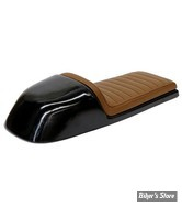COQUE ARRIERE - UNIVERSELLE - C-RACER - UNIVERSAL T CLASSIC SEAT - SCR3 - CUIR SYNTHETIQUE - SELLE : MARRON