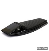 COQUE ARRIERE - UNIVERSELLE - C-RACER - FLAT TRACK  / FLAT RACER SEAT - SCR4 - CUIR SYNTHETIQUE - SELLE : NOIR