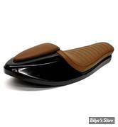 COQUE ARRIERE - UNIVERSELLE - C-RACER - CAFE RACER - NEO CLASSIC - SCR7.2 - CUIR SYNTHETIQUE - SELLE : MARRON