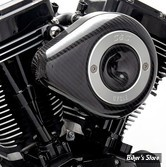 - FILTRE A AIR - S&S - MILWAUKEE EIGHT TOURING 17UP / SOFTAIL 18UP - TEARDROP STEALTH AIR CLEANER KIT - CARBON LOOK - 170-0498B
