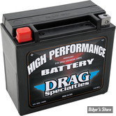 BATTERIE - 65991-82B - DRAG SPECIALTIES - HIGH PERFORMANCE - AGM / GEL