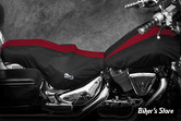 COUVERTURE DE RESERVOIR & SELLE - SOFTAIL FLST / FLSTS / FXSTB / FLSTF - BIKESHEATH - COULEUR : NOIR / BORDEAUX