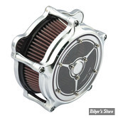 - FILTRE A AIR - ROLAND SANDS RSD - BT93UP / SOFTAIL 01/15 / DYNA 04/17 / TOURING 02/07 - EVOLUTION & TWINCAM - Clarity Air Cleaner - CHROME