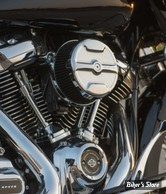 KIT FILTRE A AIR A.NESS - MILWAUKEE EIGHT TOURING 17UP / SOFTAIL 18UP - STAGE 1 BIG SUCKER AIR CLEANER KIT - KNUCKLE - CHROME - 18-393