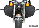 PROTEGES JAMBES DE PARE CYLINDRES / CHAPS - TOURING 97UP - SADDLEMEN - SOFT FAIRING LOWER SET WITH STORAGE POUCH