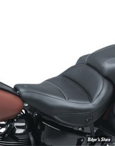 SELLE SOLO - SOFTAIL FLHC / FLDE 18UP - MUSTANG - MAX PROFILE SOLO TOURING SEATS - NOIR - 75880