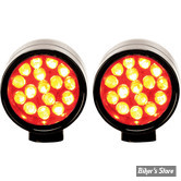 CLIGNOTANT A LEDS - LAZERSTAR LIGHTS - MICRO B XS POINT - LED - NOIR - ECLAIRAGE : ROUGE