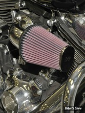 - FILTRE A AIR - K&N - TOURING 08/16 / SOFTAIL 16/17 / DYNA FXDLS 16/17 - AIRCHARGER PERFORMANCE AIR INTAKE KIT - Poli - 63-1122P
