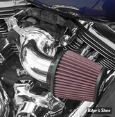 - FILTRE A AIR - K&N - AIRCHARGER PERFORMANCE AIR INTAKE KIT - TOURING 08/16 - POLI - 63-1131P