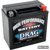 BATTERIE - 65958-04A - DRAG SPECIALTIES - HIGH PERFORMANCE - AGM / GEL