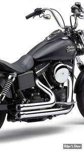 ECHAPPEMENT COBRA - SPEEDSTER SHORT RPT - DYNA 12/17 - CHROME - 6788