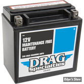 BATTERIE - 65958-04 - DRAG SPECIALTIES - MAINTENANCE FREE - AGM / GEL