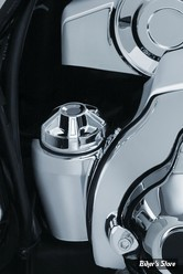 BOUCHON D'HUILE - TOURING MILWAUKEE EIGHT 2017UP - KURYAKYN - PRECISION DIPSTICK - CHROME - 6425