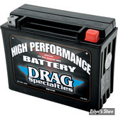 BATTERIE - 66010-82B - DRAG SPECIALTIES - HIGH PERFORMANCE - AGM / GEL