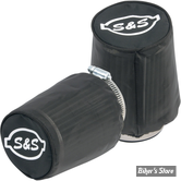 - FILTRE A AIR - S&S - SINGLE BORE TUNED INDUCTION SYSTEM : CHAUSSETTES ANTI PLUIE