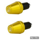 EMBOUTS DE GUIDON - DRIVEN - BAR END V2 - OR