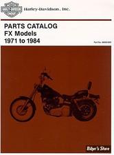 CATALOGUE DE PIECES DETACHEES - BIGTWIN FX 71/84 - OEM 99455-83