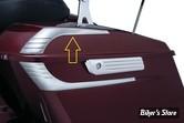 ACC - ENJOLIVEURS DE COUVERCLE DE SACOCHES - KURYAKYN - TOURING 14UP - Tri-Line Saddlebag Lid Accents - CHROME - 6905